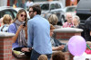 Alessandra Ambrosio seen with Jamie Mazur  and their daughter Anja Louise on April 4th 2010 as they spend Easter at the Sunday Farmers Market on Main Street 2