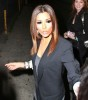 Eva Longoria picture as she gets out of leaves Beso on April 1st 2010 after having dinner with friends 2