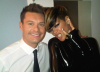 Rayan Secrest together with Rihanna backstage at American Idol on April 7th 2010 in Los Angeles