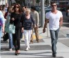 Simon Cowell and his fiance Mezhgan Hussainy out shopping and having dinner together in Beverly Hills 1