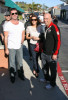 Simon Cowell and his fiance Mezhgan Hussainy seen together on March 15th 2010 as they were shopping at the Malibu country market 2