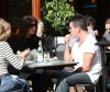 Simon Cowell and his fiance Mezhgan Hussainy out shopping and having dinner together in Beverly Hills 4