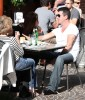 Simon Cowell and his fiance Mezhgan Hussainy out shopping and having dinner together in Beverly Hills 6