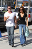 Simon Cowell and his fiance Mezhgan Hussainy seen together on March 27th 2010 as they visit Heritage Classic Cars then a Pinkberry for some frozen yogurt 3