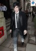 Adam Lambert spotted on March 26th 2010 as walks through an alley in London 4