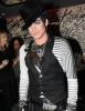 Adam Lambert attends Boy Georges new single launch at the Merah Club on March 20th 2010 in London 3