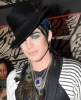 Adam Lambert attends Boy Georges new single launch at the Merah Club on March 20th 2010 in London 1