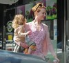 Nicole Kidman spotted with her daughter Sunday Rose as she was shopping from Active Cultures Frozen Yogurt on April 14th 2010 in Studio City California 2