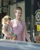 Nicole Kidman spotted with her daughter Sunday Rose as she was shopping from Active Cultures Frozen Yogurt on April 14th 2010 in Studio City California 3