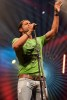 Fadi Andraos large high quality image while on stage singing at the Wakestock concert in Abu Dhabi 7