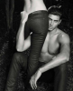 Jesus Luz recent photo from the fall 2010 ad campaign of Ellus Leather Denims 1