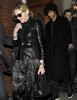 Madonna seen with Jesus Luz on March 31st 2010 as they have a private dinner together in Chelsea London 6