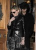 Madonna seen with Jesus Luz on March 31st 2010 as they have a private dinner together in Chelsea London 5