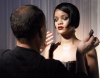 Rihanna behind the scenes of a photo shoot held at the New York City Lux Studio for Allure Magazine 3