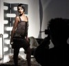 Rihanna behind the scenes of a photo shoot held at the New York City Lux Studio for Allure Magazine 4