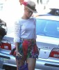 Rihanna seen on April 8th 2010 as she walks into a medical building in Beverly Hills 4