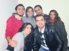 Basel Khoury with his collegue friends at the radio station