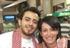 Basel Khoury picture as he arrives to Amman Airpot in Jordan where he was awaited by his family members and jordanian fans 8