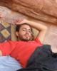 Basel Khoury at Wadi Ram in Jordan