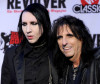 Alice Cooper and Marilyn Manson arrive at the 2nd annual Revolver Golden Gods Awards held at Club Nokia on April 8th 2010 in Los Angeles 3