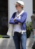 Anne Hathaway spotted heading for lunch with a friend on April 13th 2010 in Santa Monica California 1