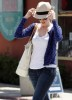 Anne Hathaway spotted heading for lunch with a friend on April 13th 2010 in Santa Monica California 2