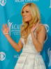 Carrie Underwood in the press room during the 45th Annual Academy of Country Music Awards at the MGM Grand Garden Arena on April 18th 2010 in Las Vegas 1