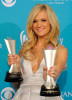 Carrie Underwood in the press room during the 45th Annual Academy of Country Music Awards at the MGM Grand Garden Arena on April 18th 2010 in Las Vegas 4