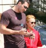 Hayden Panettiere and her boyfriend Wladimir Klitskco spotted at Melrose Avenue on April 14th 2010 in Los Angeles 2