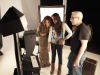 Jennifer Lopez behind the scenes of a studio photo shoot for Allure Magazine 8