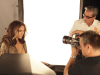 Jennifer Lopez behind the scenes of a studio photo shoot for Allure Magazine 3