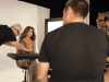 Jennifer Lopez behind the scenes of a studio photo shoot for Allure Magazine 2