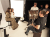 Jennifer Lopez behind the scenes of a studio photo shoot for Allure Magazine 7