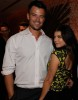 Josh Duhamel together with Fergie at the May 2010 cover celebration of Elle Magazine on April 9th 2010 at NYCs Crosby Street Hotel 2