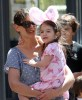 Katie Holmes seen with a bunny styled Suri Cruise while visiting the ABC Carpet and Home Co store on April 10th 2010 in New York City 3