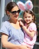 Katie Holmes seen with a bunny styled Suri Cruise while visiting the ABC Carpet and Home Co store on April 10th 2010 in New York City 2
