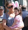 Katie Holmes seen with a bunny styled Suri Cruise while visiting the ABC Carpet and Home Co store on April 10th 2010 in New York City 4