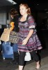 Kelly Clarkson arrives at Sydney Airport on April 14th 2010 in Australia 1