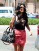 Kourtney Kardashian seen on April 9th 2010 as she arrives at Dash Miami 4