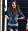 Lourdes Leon spotted on April 3rd 2010 at her familys place in London 4