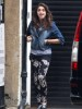 Lourdes Leon spotted on April 3rd 2010 at her familys place in London 1