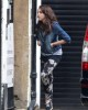 Lourdes Leon spotted on April 3rd 2010 at her familys place in London 2
