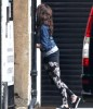 Lourdes Leon spotted on April 3rd 2010 at her familys place in London 3