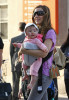 Sarah Jessica Parker spotted on April 7th 2010 holding her daughter as she takes her son James Wilkie to school 5