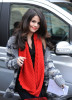Selena Gomez picture on April 7th 2010 as she leaves the Wizards of Waverly Place event then heads to MTV studios 5