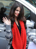 Selena Gomez picture on April 7th 2010 as she leaves the Wizards of Waverly Place event then heads to MTV studios 4