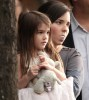 Suri Cruise picture while visiting her mommy on the filming set of the new movie Son of No One on April 9th 2010 in New York City 9