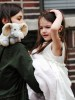 Suri Cruise picture while visiting her mommy on the filming set of the new movie Son of No One on April 9th 2010 in New York City 3