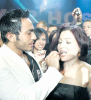 tamer hosny and Mai Ezzideen together at a private party gathering 2