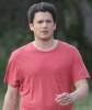 Wentworth Miller spotted wearing a red tshirt as he goes for a hike on April 15th 2010 in Los Angeles 3